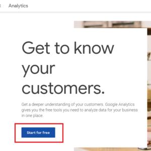 регистрация в гугл аналитикс